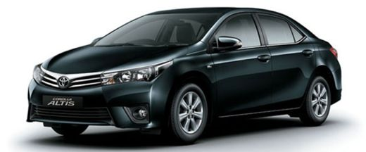 Toyota Corolla Altis 2013-2017 Pictures