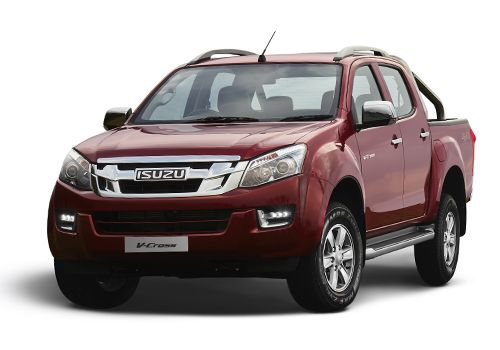 isuzu d max v cross price images reviews mileage. Black Bedroom Furniture Sets. Home Design Ideas