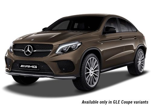 Mercedes benz gle 450 amg coupe colors for Brown mercedes benz
